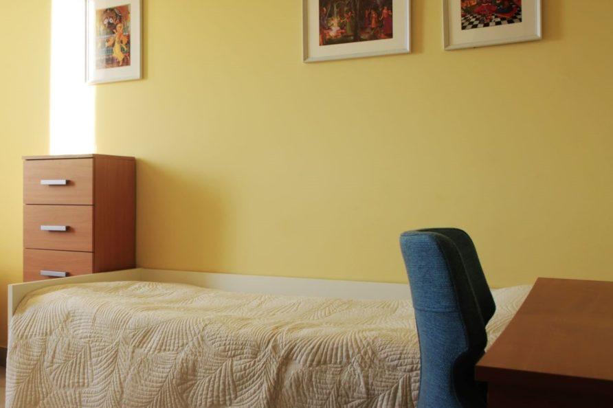 Kamala Bhavan egyágyas szoba